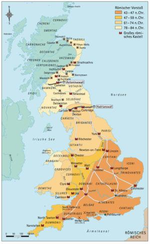 Römischer Vorstoß in England