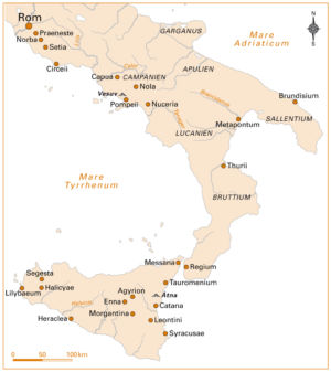 Spartacus in Italien