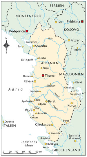 Albanien 2010