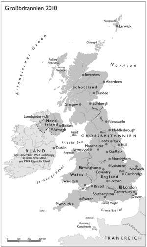 Großbritannien 2010