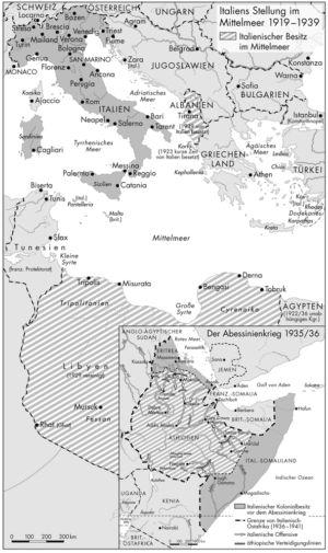 Italien 1919 bis 1939