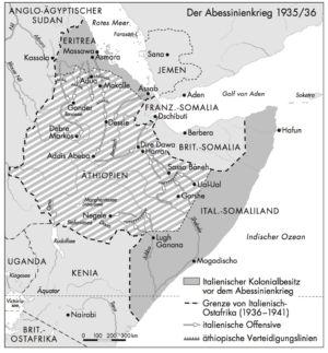 Abessinienkrieg 1935/36