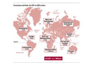 Aids in der Welt 2007