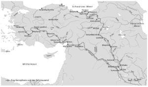 Xenophon in Kleinasien und Mittlerer Osten