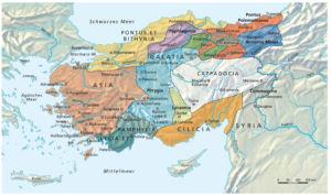 Vespasian und Kleinasien 72