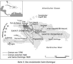 Santo Domingo 1790 bis 1820