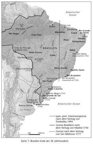 Brasilien 1750 bis 1777