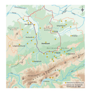 Grafschaft Dortmund 1804