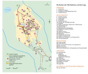 Villa Hadriana in Tivoli