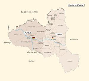 Provinzen Kundus und Takhar