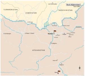 Region um Kundus