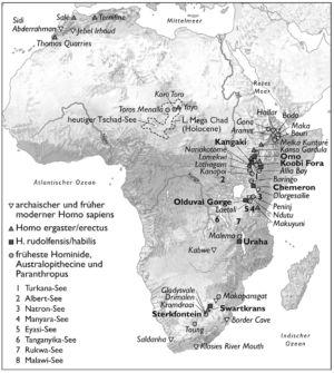 Menschheit in Afrika