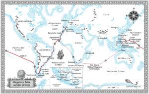 Magellans Reise auf der Victoria 1520/21