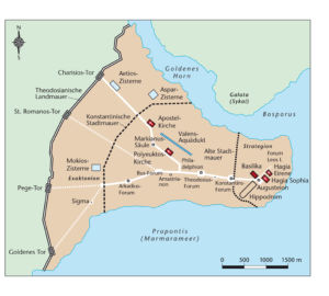 Konstantinopel in der Spätantike