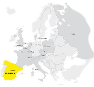 Spanien in Europa