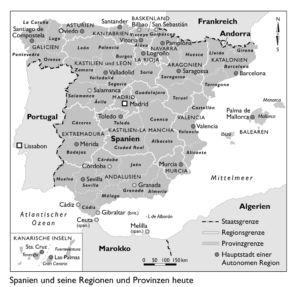 Provinzen in Spanien