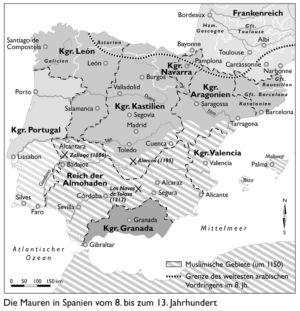 Spanien 8. bis 13. Jahrhundert