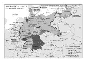 Weimarer Republik 1918 bis 1933