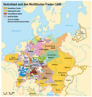 Europa nach dem Westfälischen Frieden 1648