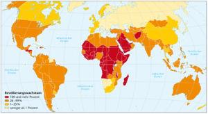 Bevölkerungswachstum 2010