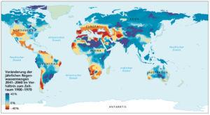 Regenwasser 2041 bis 2060