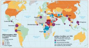 Kriege und Konflikte seit 1990