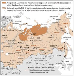 Zwangsarbeitslager in der Sowjetunion (Gulag)