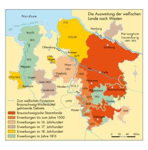 Niedersachsen in der Geschichte