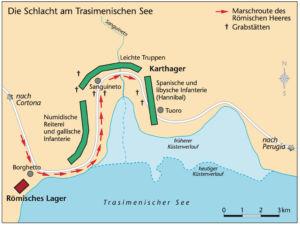 Schlacht am Trasimenischen See 217 v. Chr.