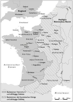 Heinrich II. 1133 bis 1189