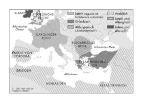 Sprachen in Europa im 9. und 10. Jahrhundert