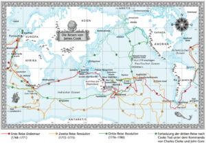 Reisen von James Cook 1768 bis 1780