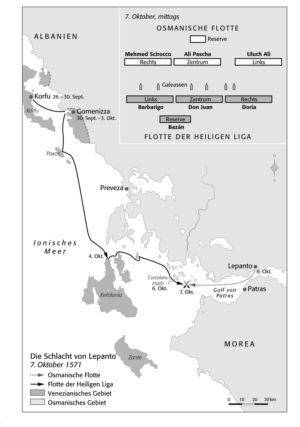 Schlacht von Lepanto 1571