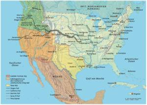 Nordamerika und die Trails