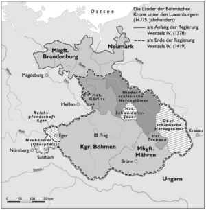 Wenzel IV. 1378 bis 1419