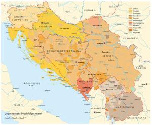 Völker auf dem Balkan