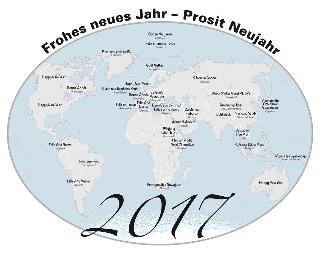 Ich wünsche allen ein frohes und erfolgreiches neues Jahr 2017