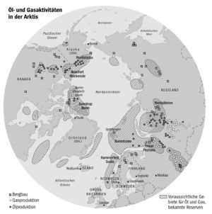 Ausbeutung der Arktis