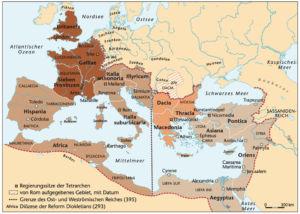 Römisches Reich 395