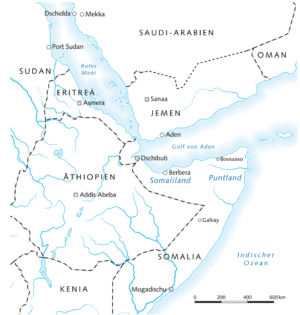 Ostafrika 2009