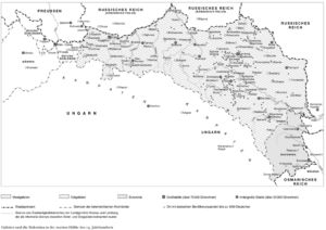 Galizien und die Bukowina Ende des 19. Jahrhunderts