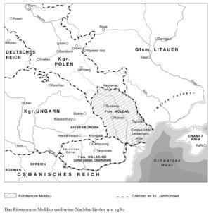 Fürstentum Moldau 1480