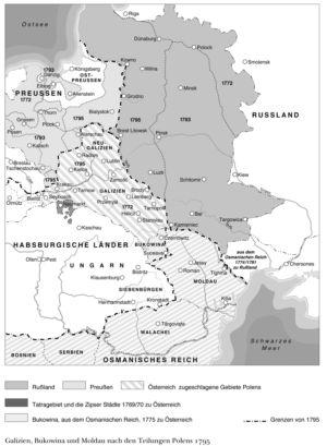 Polen 1769 bis 1795
