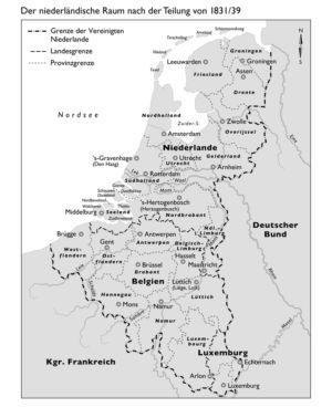 Niederlande und Belgien 1831