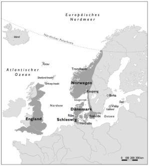 Wikinger in Nordeuropa
