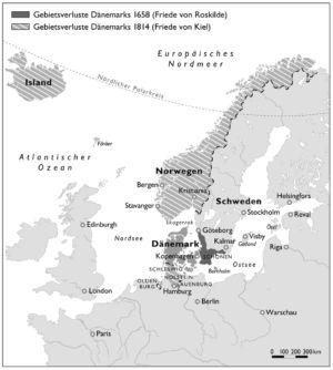 Skandinavien 1658 bis 1814