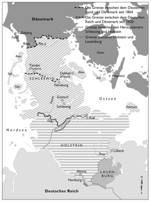 Schleswig und Holstein 1864 bis 1920