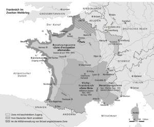 Frankreich unter Besatzung
