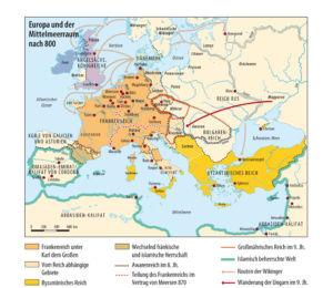 Europa um 800