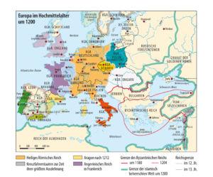 Europa um 1200